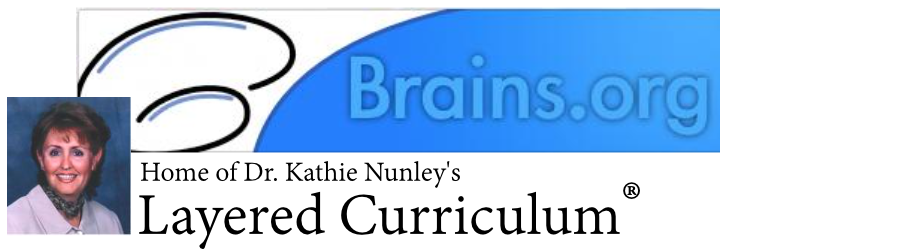 brains dot org home of Dr Kathie Nunley's Layered Curriculum